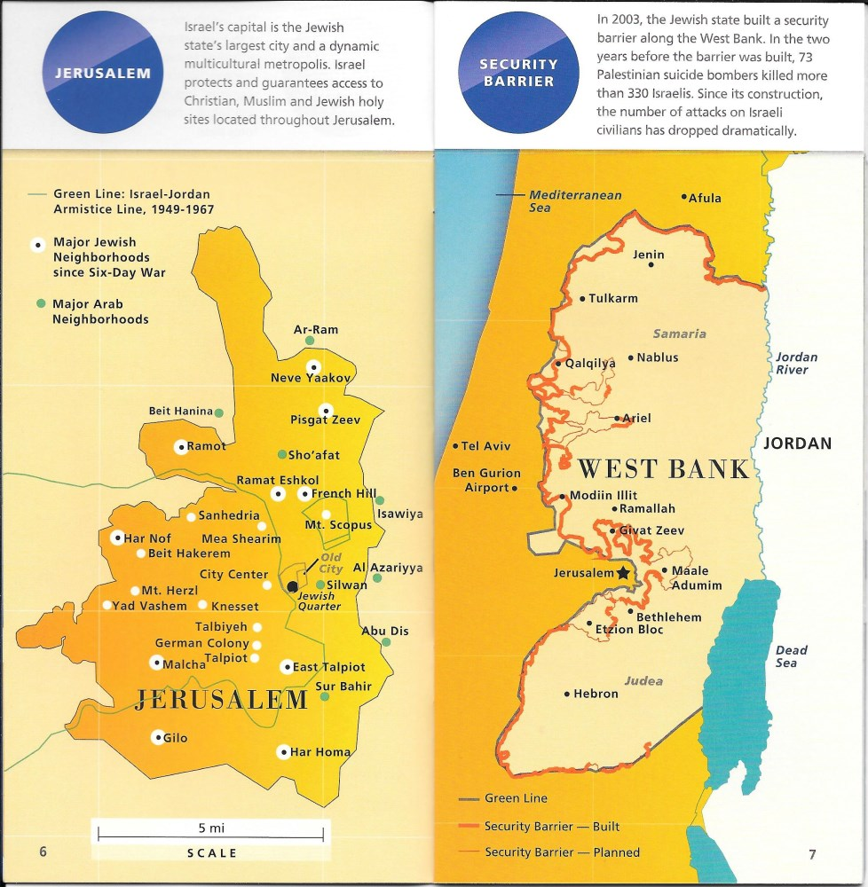 Israel in Maps | Motti Saar Israeli tour guide